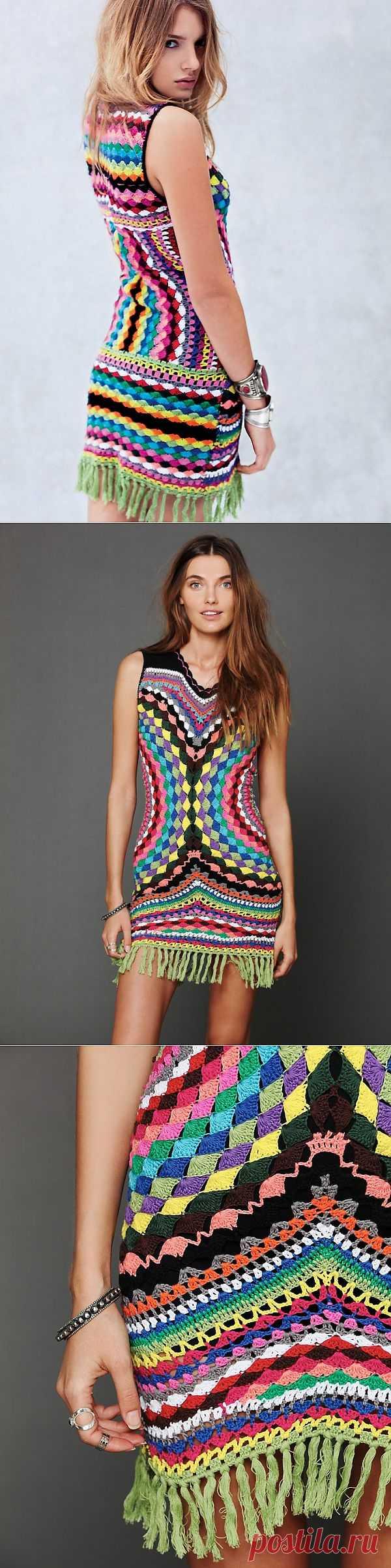 Винтажное платье от Free People / Вязание / Модный сайт о стильной переделке одежды и интерьера