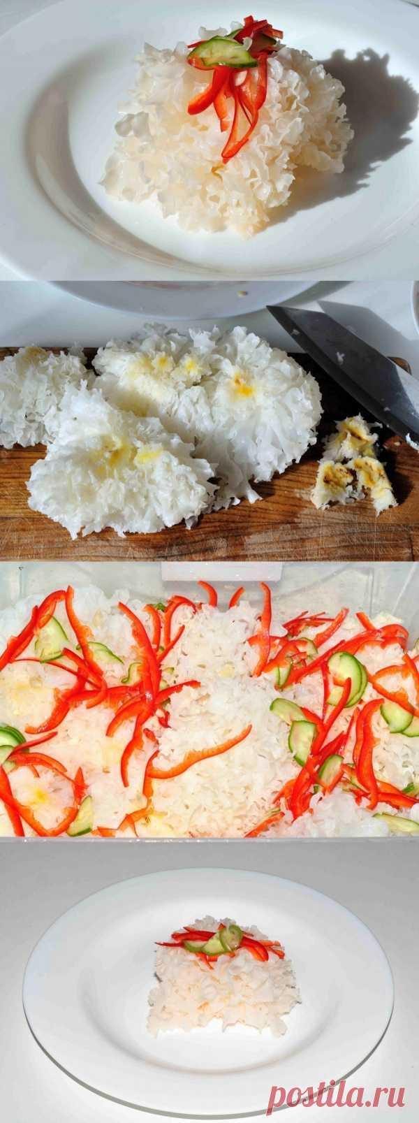 Ледяной гриб - отличная закуска ;)