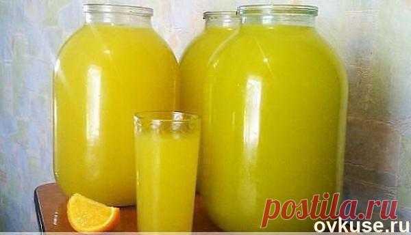 Апельсиновый напиток - Простые рецепты Овкусе.ру