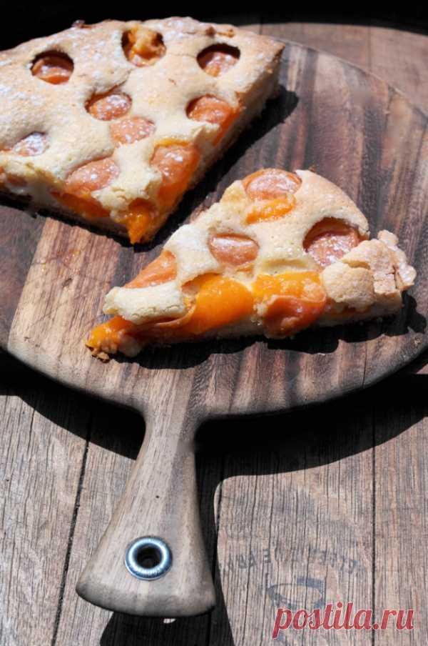 Миндально-абрикосовый пирог