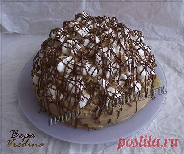"""La torta """"Трюфель"""" - la receta de la foto"""