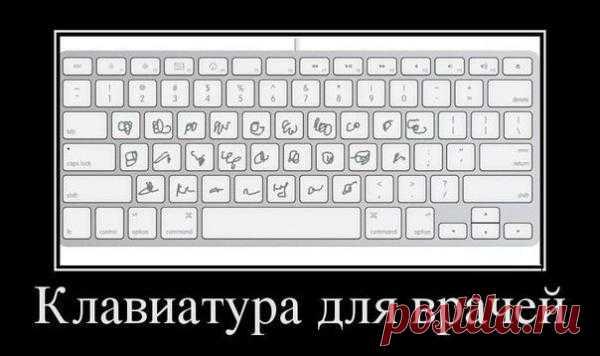 Клавиатура для врачей