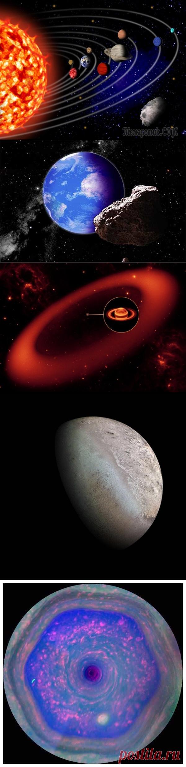 10 неизвестных объектов Солнечной системы