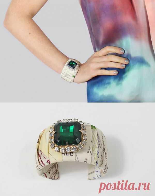 Браслет (DIY) / Украшения и бижутерия / Модный сайт о стильной переделке одежды и интерьера