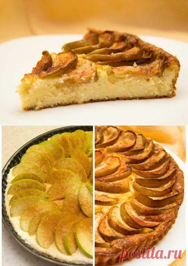 Запеканки: Венский сырник с яблоками