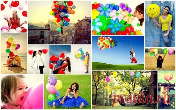 Фото с шарами / Фото (идеи съемок) / Модный сайт о стильной переделке одежды и интерьера