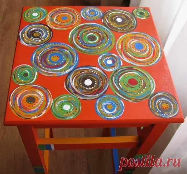 Креативные идеи по декору мебели для дачи. (Мастер-класс по клику на картинку).