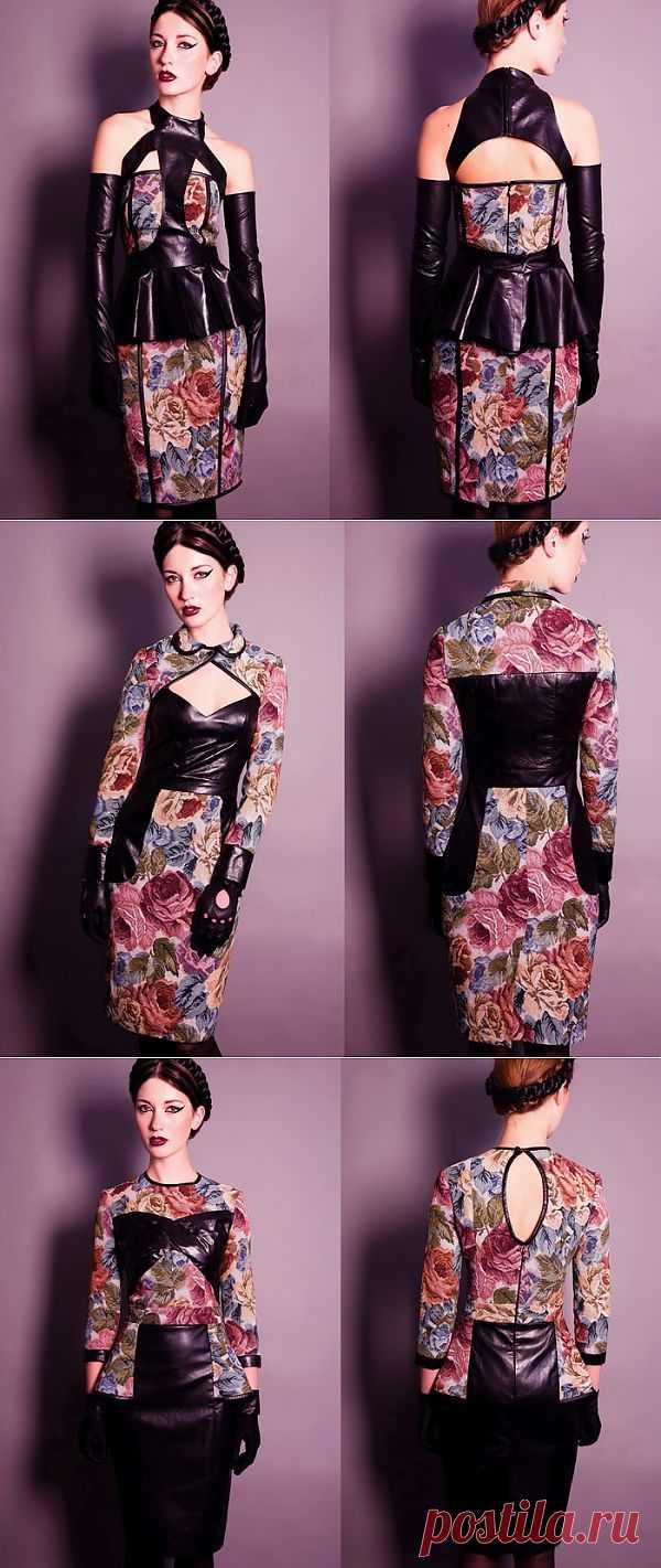 Гобелен и кожа / Платья Diy / Модный сайт о стильной переделке одежды и интерьера