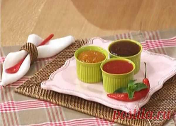 Варенье-соус из болгарского перца