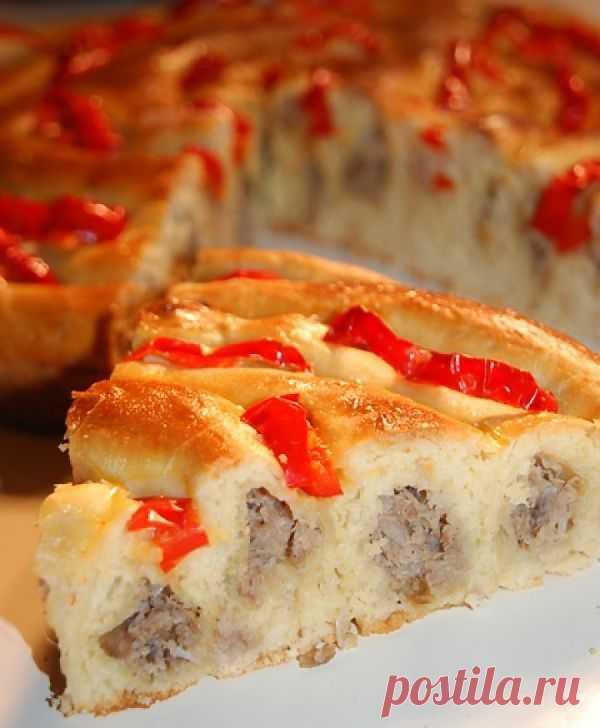 Мясной кольцевой пирог. Автор: natapit (Наталья)