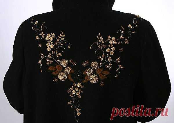 Вышивка на одежде традиционными и новыми способами для модниц и рукодельниц