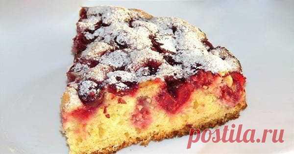 Потрясающий пирог из замороженных ягод