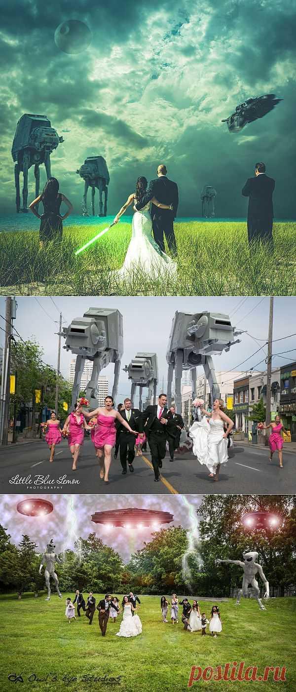 7 самых крутых свадебных фото в новом тренде