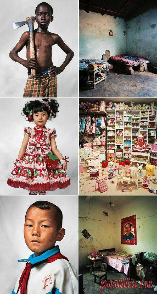 """Фотопроект """"Где спят дети"""". Чистая и искренняя правда про детские комнаты в разных странах мира. Всегда интересно, как живут ваши соседи?"""