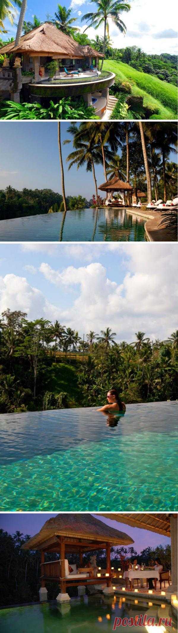 Viceroy Bali – спокойный и уютный, но эксклюзивный, роскошный отель, уютно расположенный в нетронутом живописном загородном уголке в окружении тропических джунглей. Остров Бали