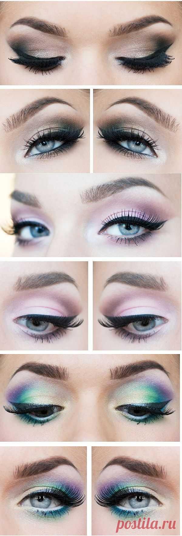 Уроки макияжа!