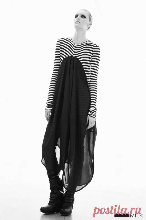 Туника из тельняшки / Тельняшки / Модный сайт о стильной переделке одежды и интерьера