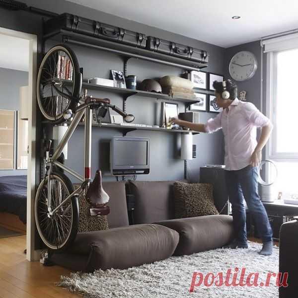 Еще один способ хранить велосипед - 3 / Авто Мото Вело / Модный сайт о стильной переделке одежды и интерьера