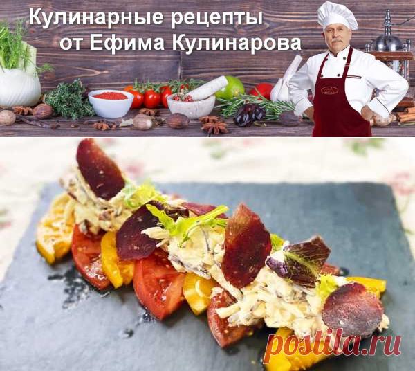 Потрясающая закуска — помидоры с сыром | Вкусные кулинарные рецепты