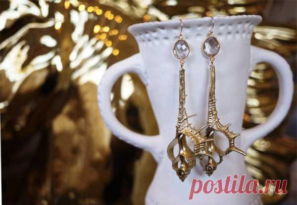 Make: long earrings