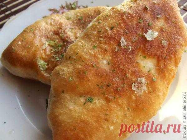Воздушные жареные пирожки / Рецепты с фото