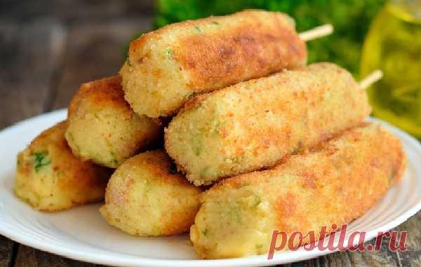 Картофельные палочки с сыром и беконом — СОВЕТНИК