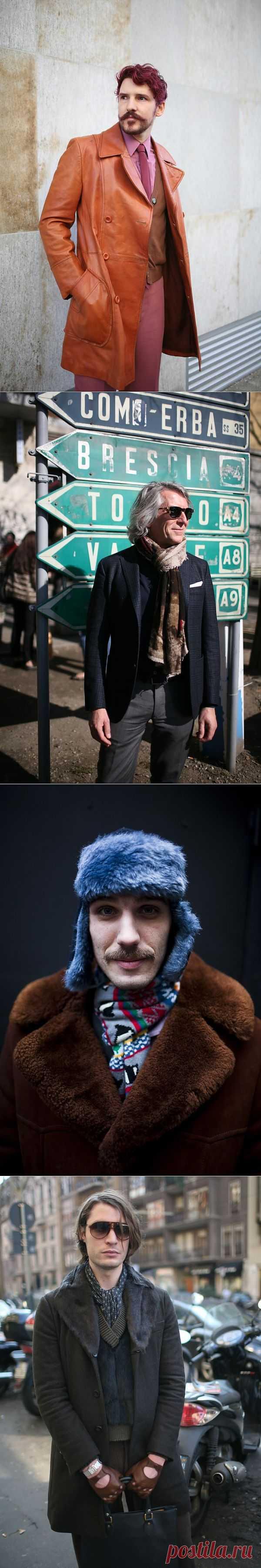 Серия публикаций Milan Fashion Week ч.4:мужская мода / Street Style / Модный сайт о стильной переделке одежды и интерьера