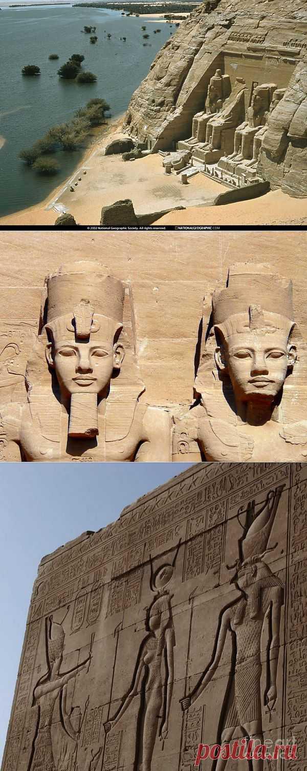 (+1) сообщ - Храмы Рамзеса II. Абу-Симбел. Египет. | Искусство