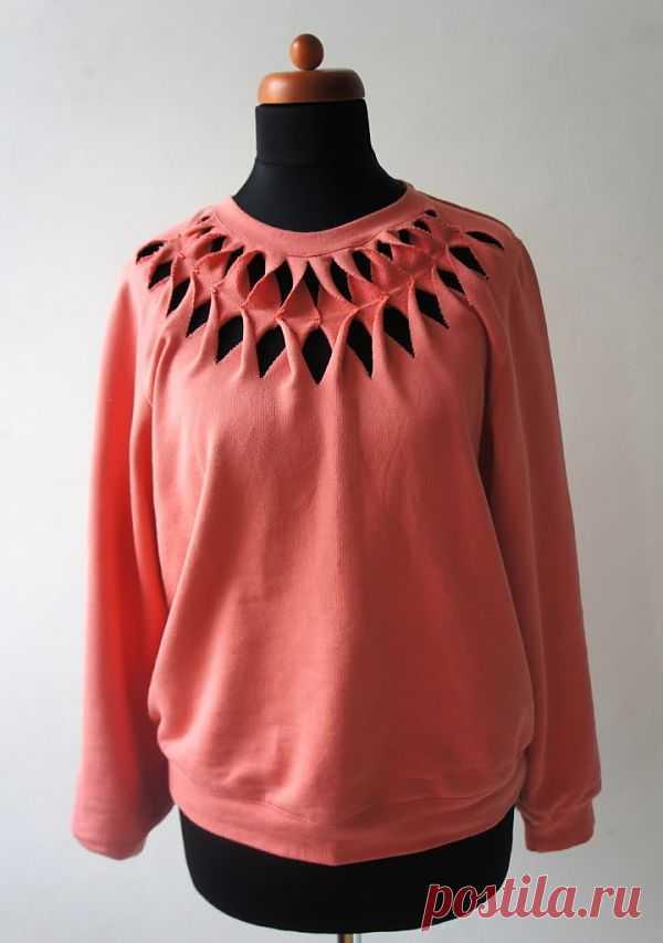 Интересный поворот (DIY) / Худи / Модный сайт о стильной переделке одежды и интерьера