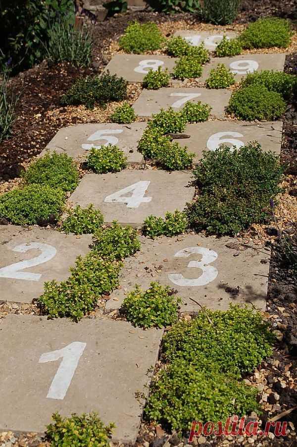 Классики в саду