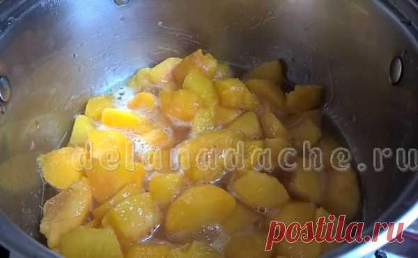 Пюре из персиков на зиму для ребенка: рецепт с фото, без сахара