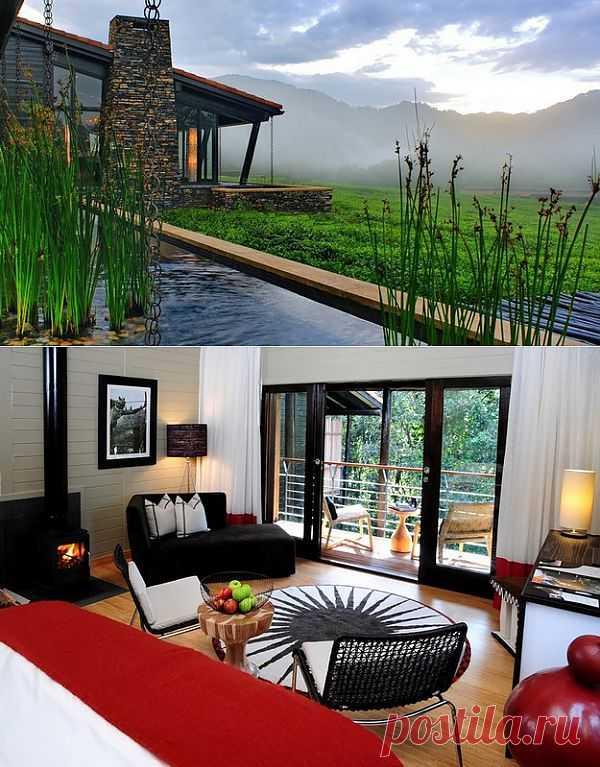 Nyungwe Forest Lodge - отель в Руанде среди чайных плантаций | КрасиВО!!!