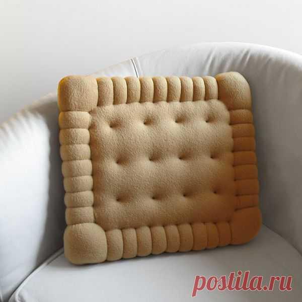 Диванная печенька / Подушки / Модный сайт о стильной переделке одежды и интерьера