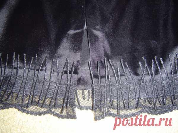 Совет как можно удлинить юбку / Изменение размера / Модный сайт о стильной переделке одежды и интерьера
