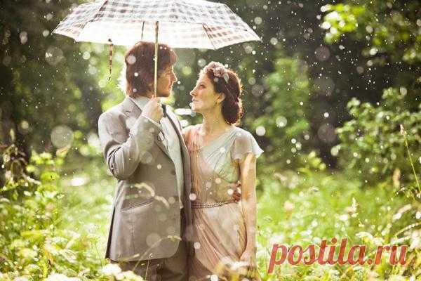 Солнечные блики: love-story Анны и Романа - WeddyWood