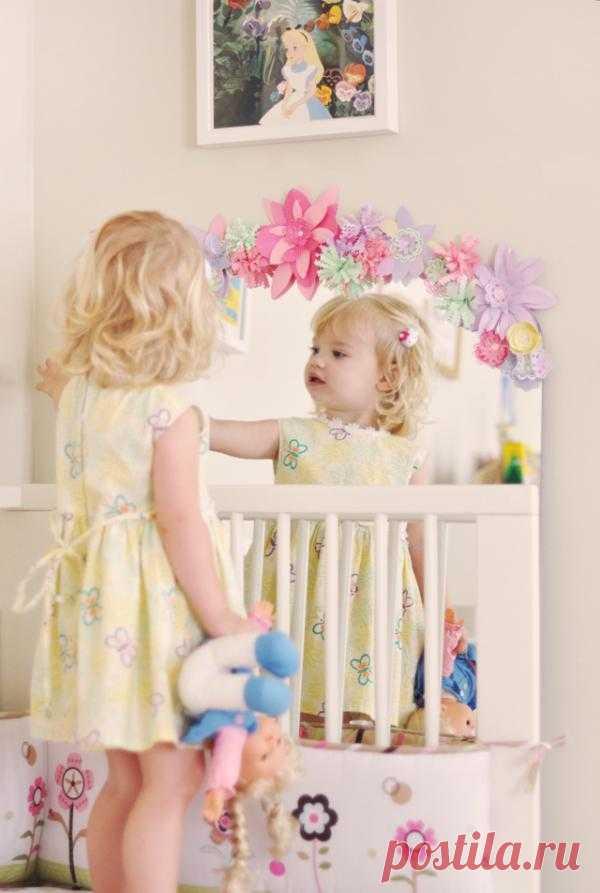 Зеркало в детскую