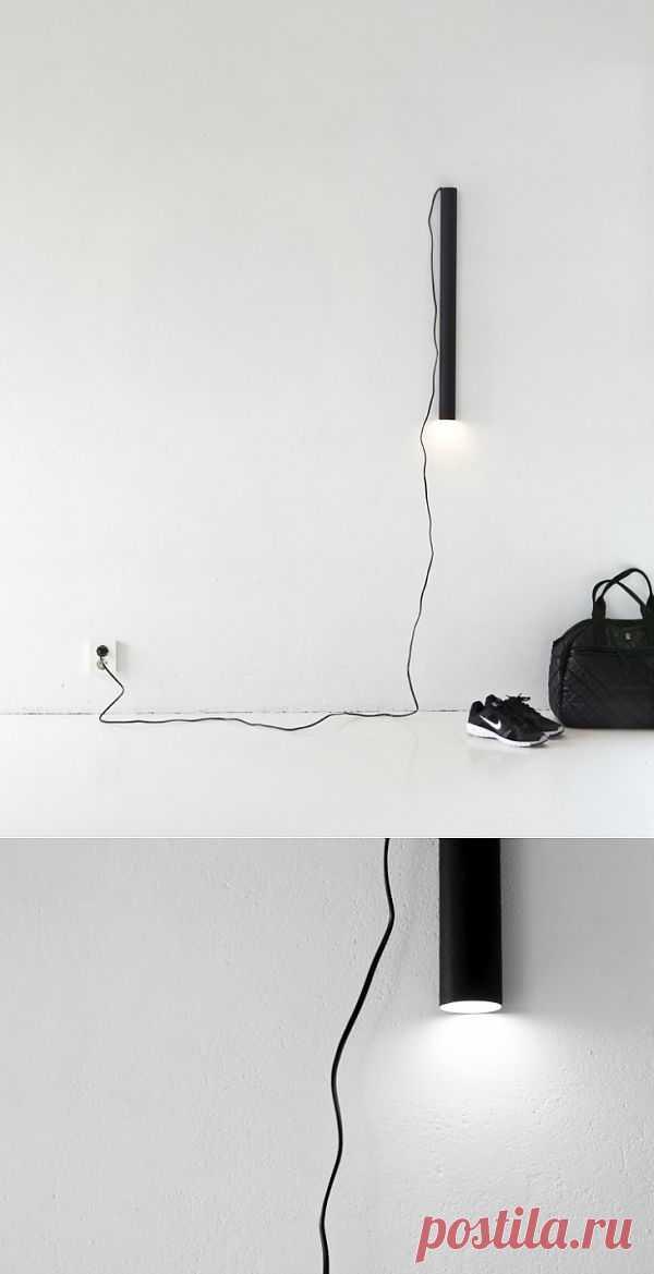 Лампа - труба (DIY) / Освещение / Модный сайт о стильной переделке одежды и интерьера