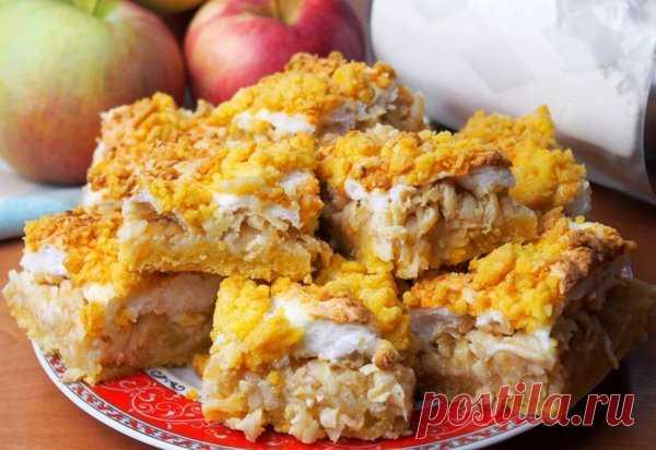 Очень быстрый и оригинальный яблочный пирог | просто здорово! | Яндекс Дзен