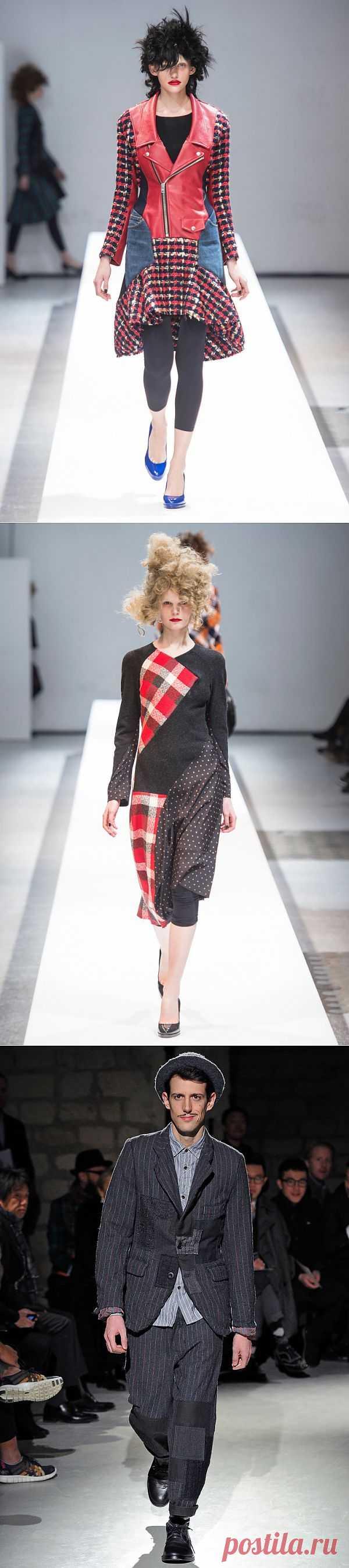 Коллекции 2013 Junya Watanabe (трафик) / Дизайнеры / Модный сайт о стильной переделке одежды и интерьера