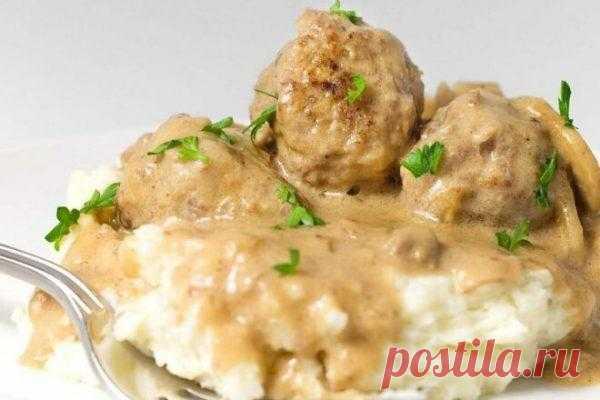 Тефтели из куриной грудки в сливочном соусе в мультиварке, рецепт с фото   Вкусные кулинарные рецепты