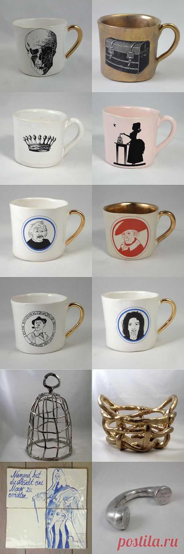 Kuehn Keramik - безумная керамика (трафик) / Сервировка стола / Модный сайт о стильной переделке одежды и интерьера