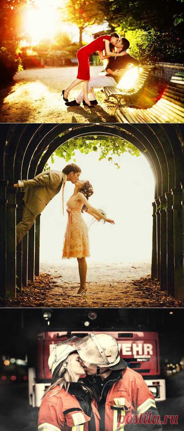 Красивые поцелуи – 17 мгновений любви