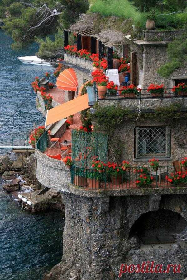 Portofino – the exclusive resort on the Italian coast of Laguria, Italy