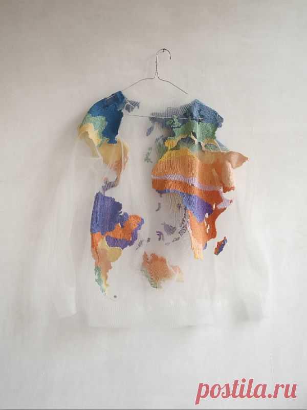 Прозрачный свитер / Вещь / Модный сайт о стильной переделке одежды и интерьера