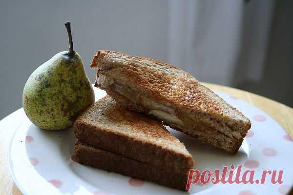 Бутерброды с грушей / Рецепты / Модный сайт о стильной переделке одежды и интерьера