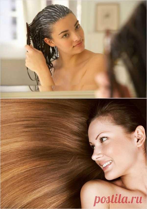 La máscara dya el cabello