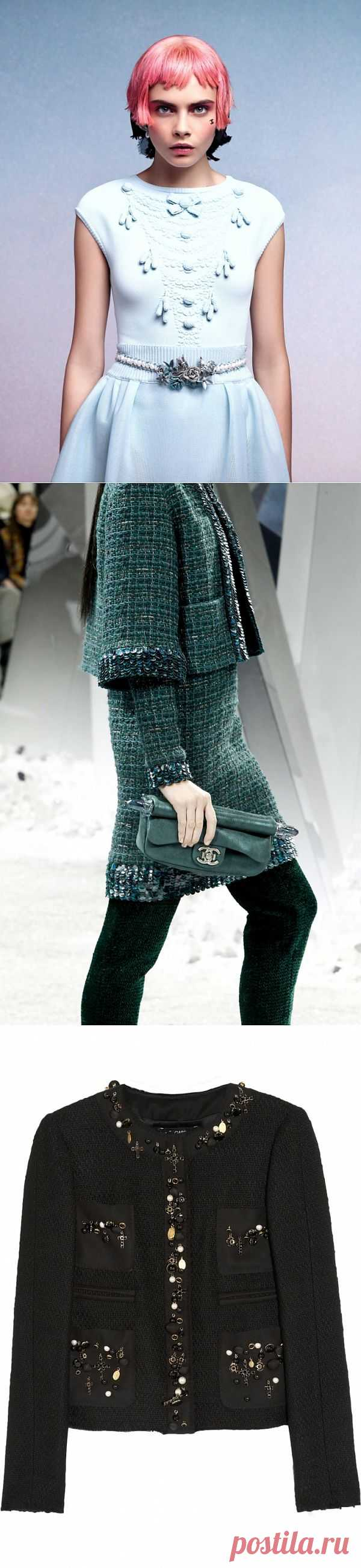 Декор Шанель (подборка идей) / Декор / Модный сайт о стильной переделке одежды и интерьера