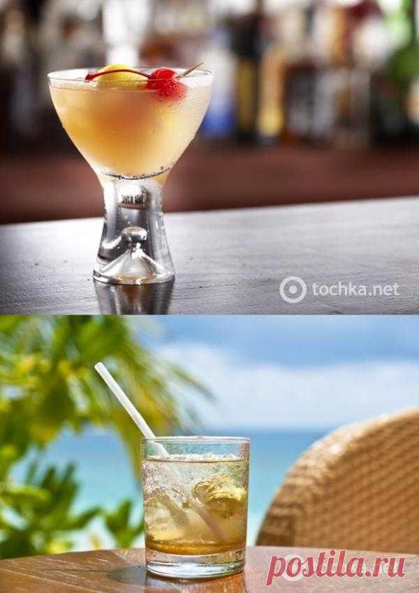 Алкоголь: коктейль Whiskey Sour