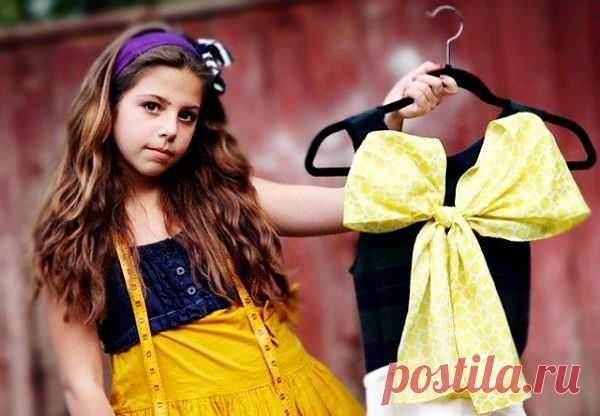 Детская школа кутюрье (+три видео мастер-класса) / Образование / Модный сайт о стильной переделке одежды и интерьера