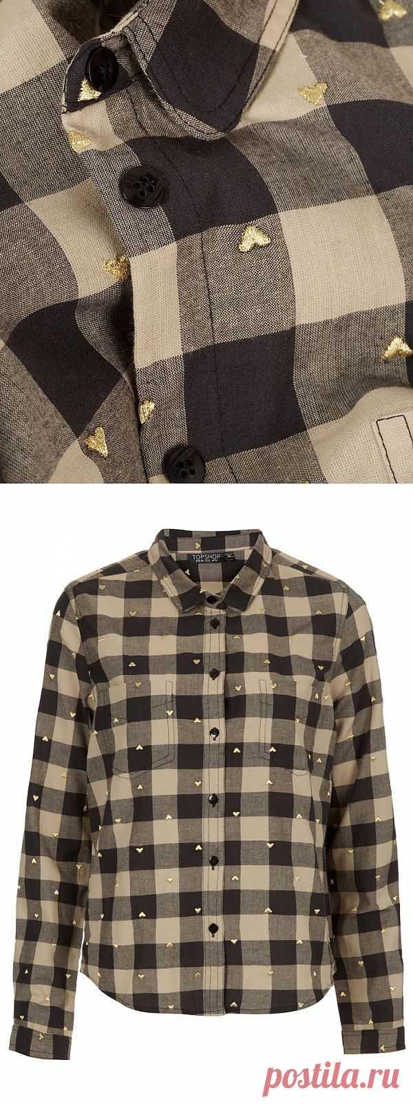 Золотое сердце / Рубашки / Модный сайт о стильной переделке одежды и интерьера